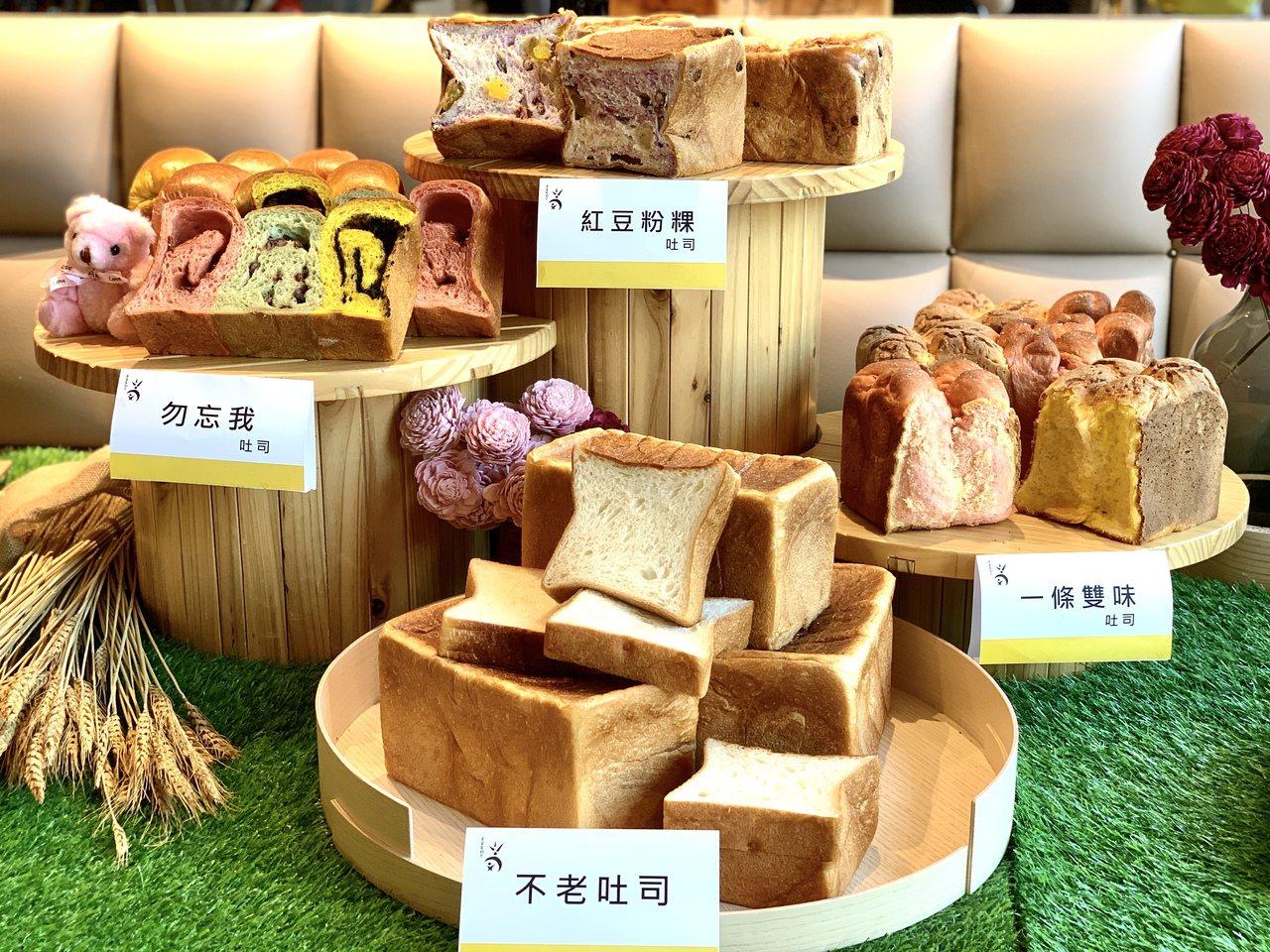 吳寶春麥方店推出4款全新吐司。記者張芳瑜/攝影