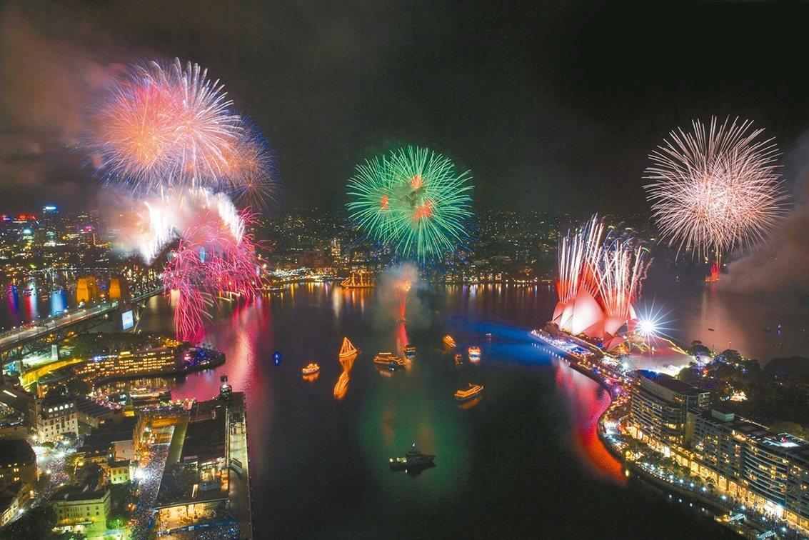 雪梨包船「跨年煙火秀包船音樂派對」。 圖/雄獅旅遊提供