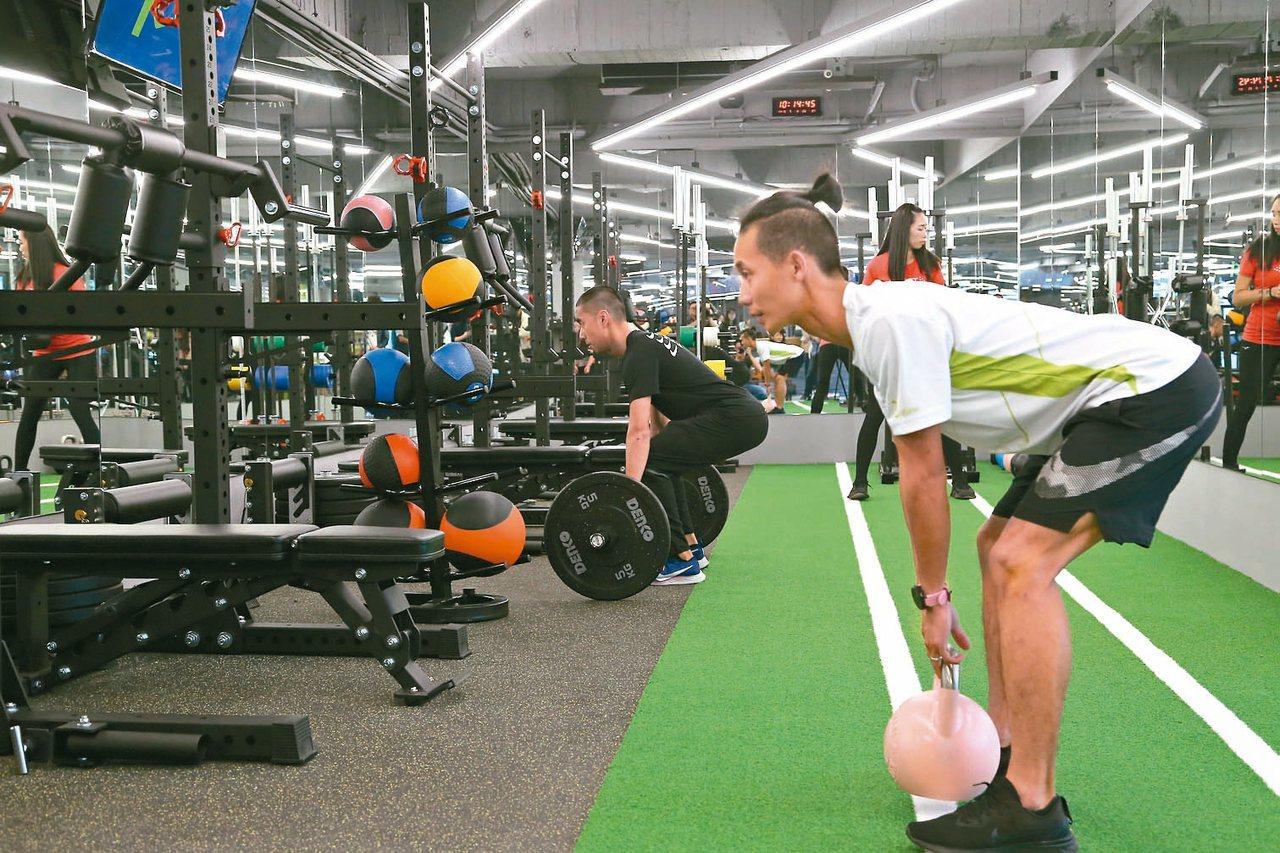 新北市體育處規畫新北運動聚點以最受歡迎的健身房、韻律及飛輪教室為主。 圖/新北市...