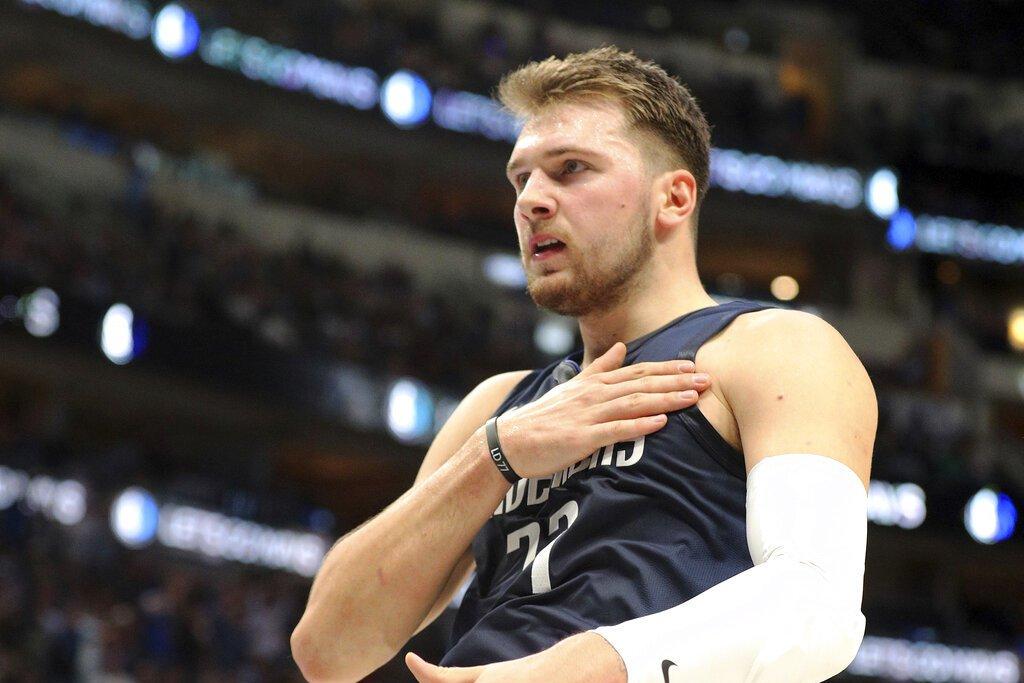 獨行俠隊當家後衛唐西奇(Luka Doncic)在日前NBA官方公布的最新MVP...