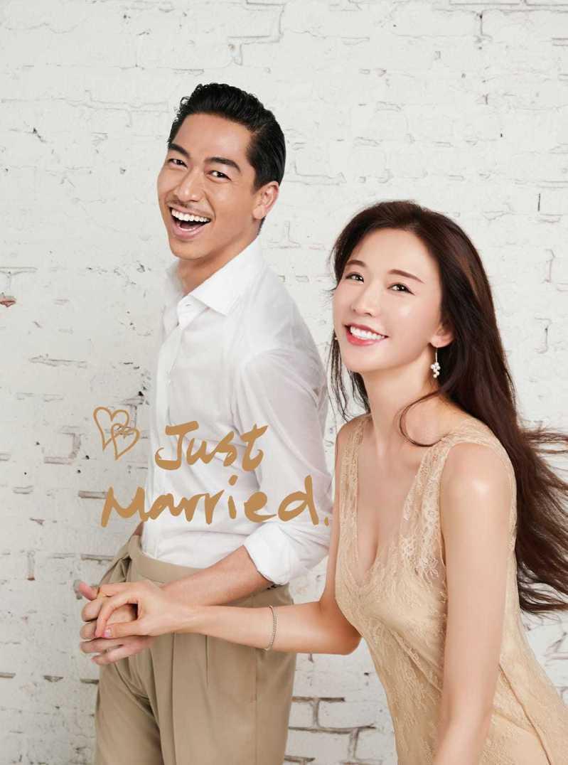 林志玲與老公AKIRA本月17日將在台南舉辦婚宴。圖/林志玲工作室提供
