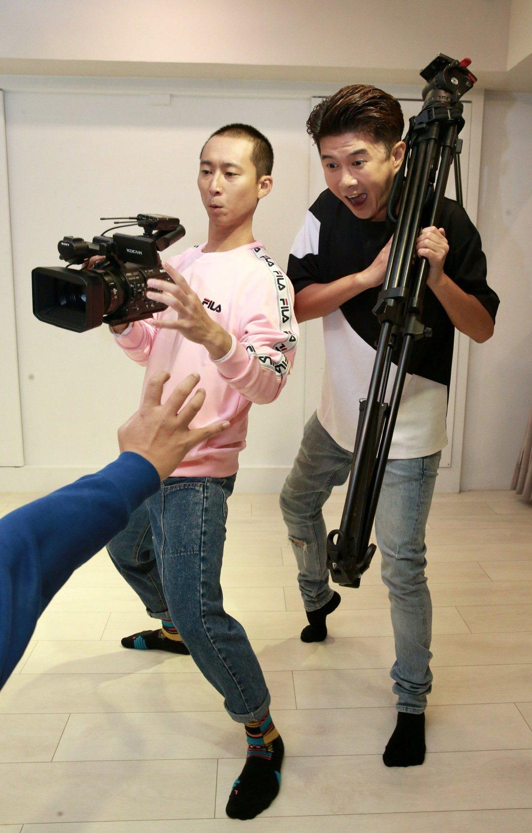 浩子(左)、顏永烈(右)。記者黃義書/攝影
