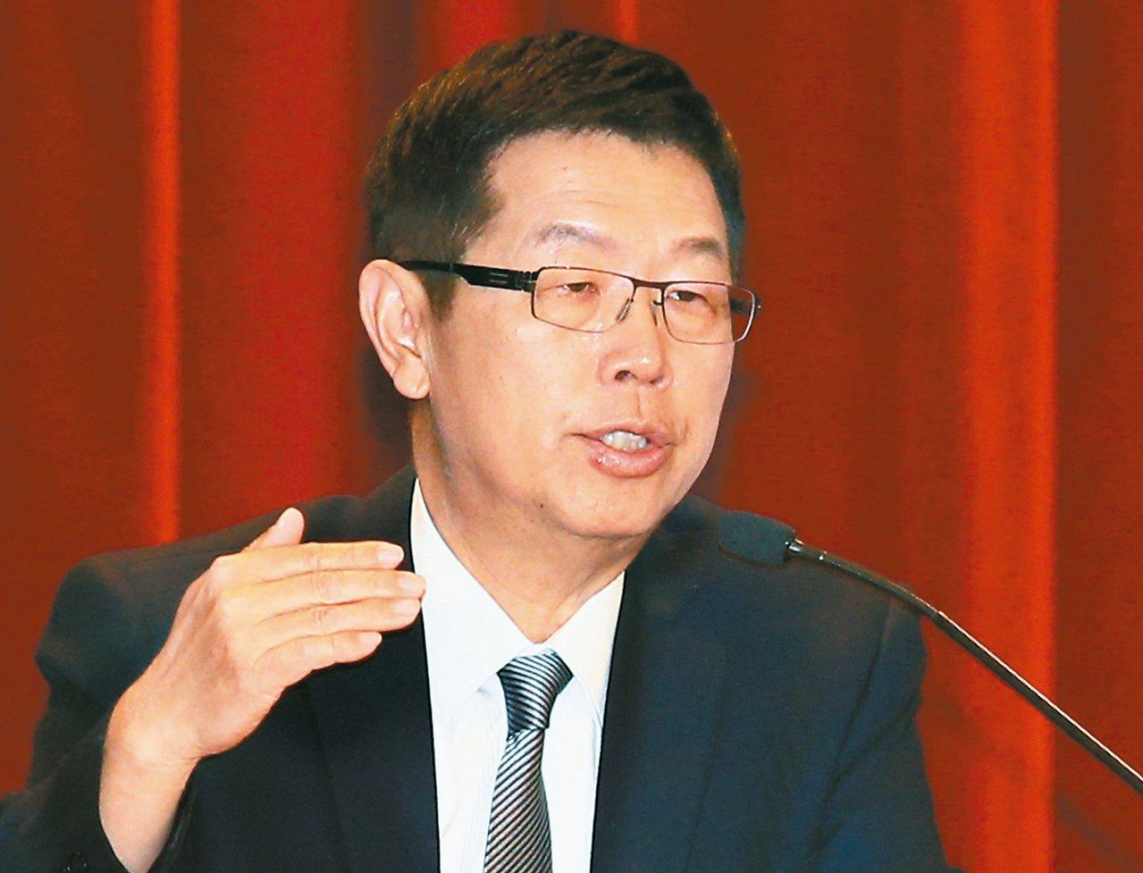 鴻海法說會後,股價陷入震盪,圖為董事長劉揚偉。 圖/聯合報系資料照片