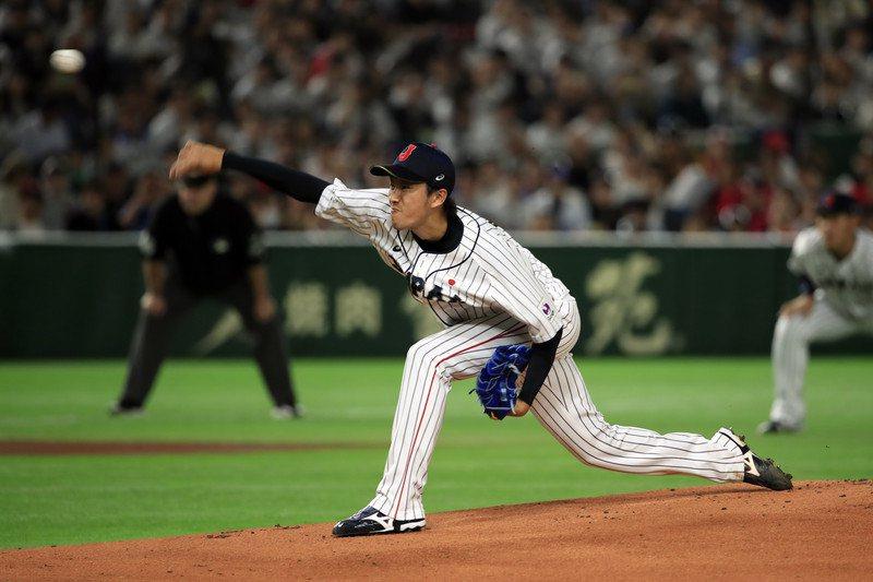 日本隊最後一戰將與韓國隊交手,預期將派出王牌投手岸孝之先發。 歐新社