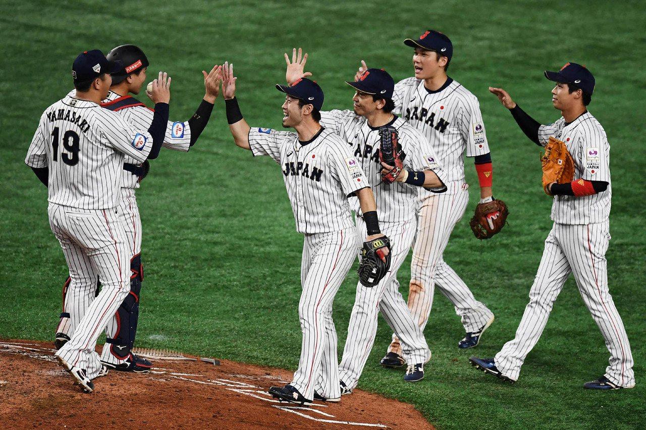 日本13日擊敗墨西哥,目前兩隊戰績並列第一。 法新社