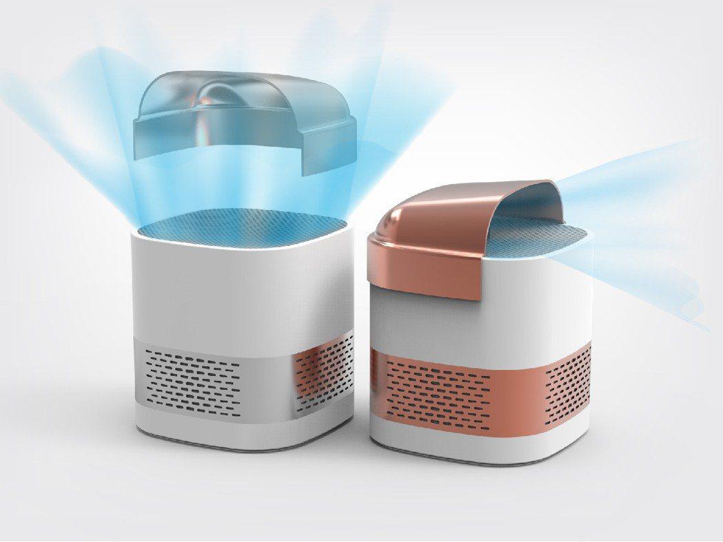Luft Cube如精品般迷你、可隨身攜帶、讓空氣無所不在。
