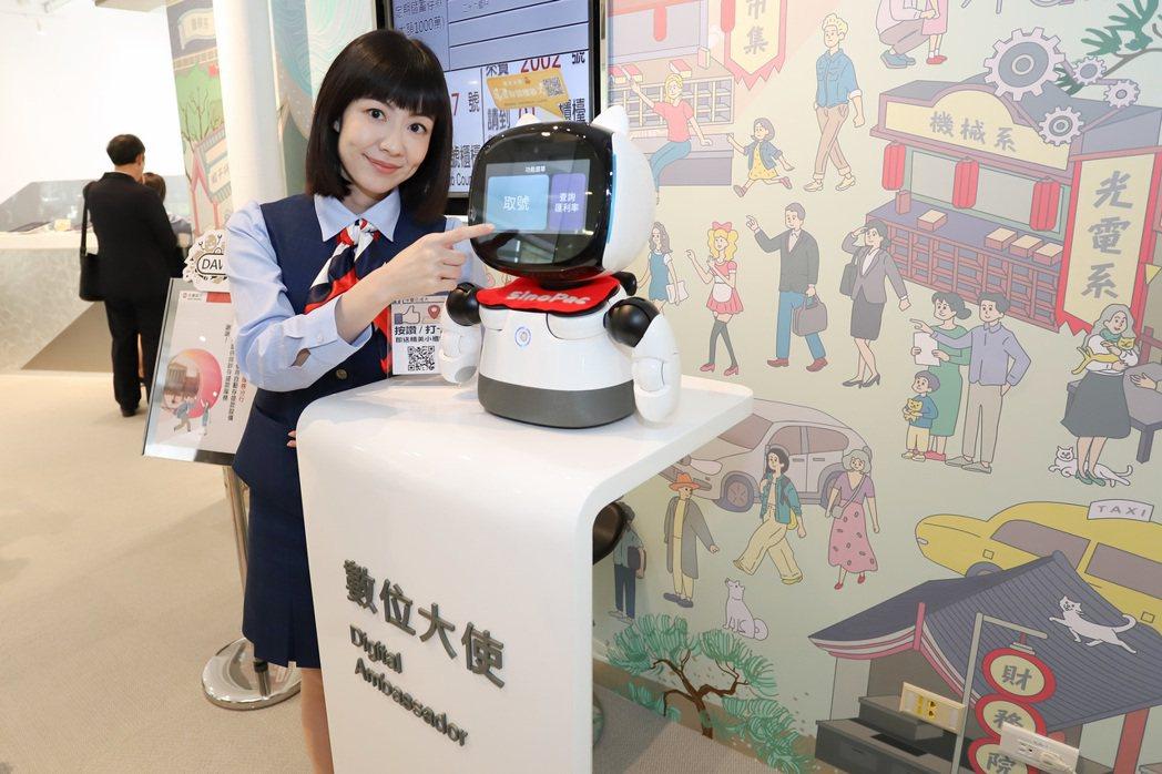 永豐銀行與成功大學合作,打造全台唯一未來校園銀行。 彭子豪/攝影