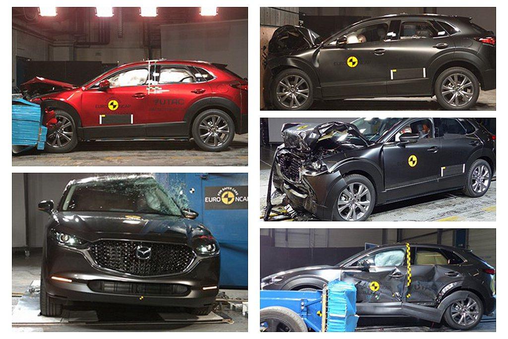 已經在台灣發表上市的Mazda CX-30這次特別被Euro NCAP點名,將是...