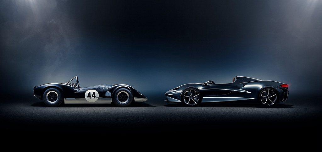 McLaren Elva的開放式座艙空間,將人、車與環境完美連結,無論在賽道或道...