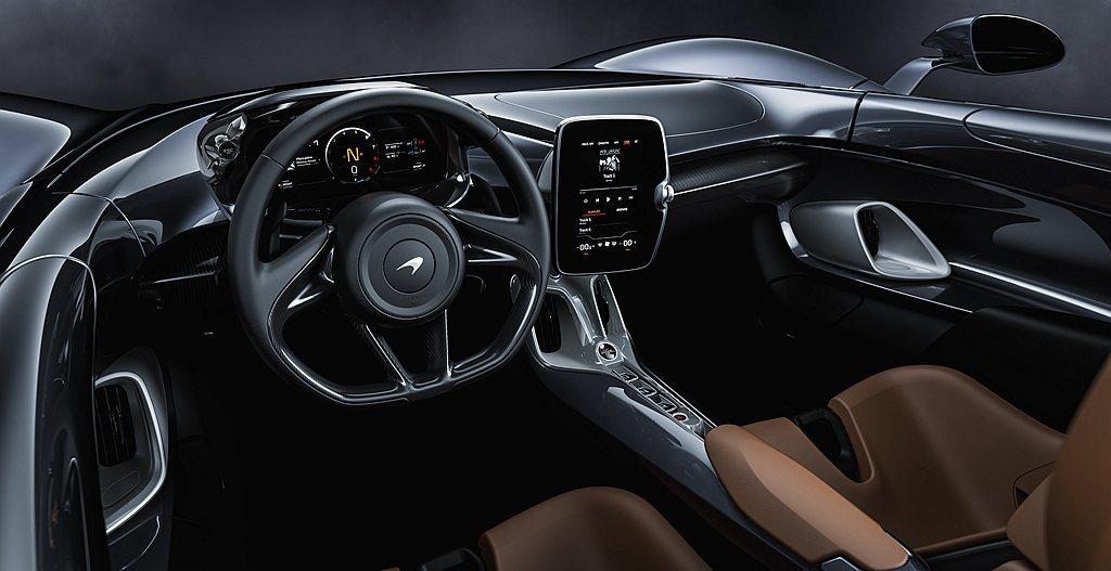 McLaren Elva打造全新獨特的無邊際設計概念,車身外觀與開放式座艙空間相...