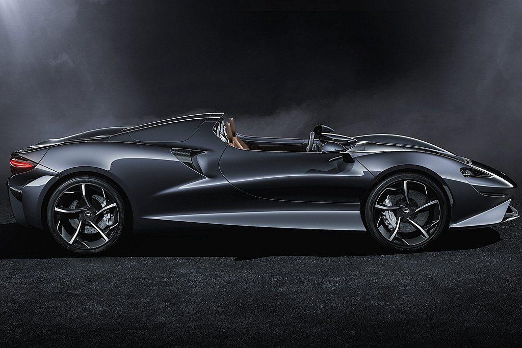 全新McLaren Elva限量399台,預計於2020年底陸續交車。 圖/Mc...