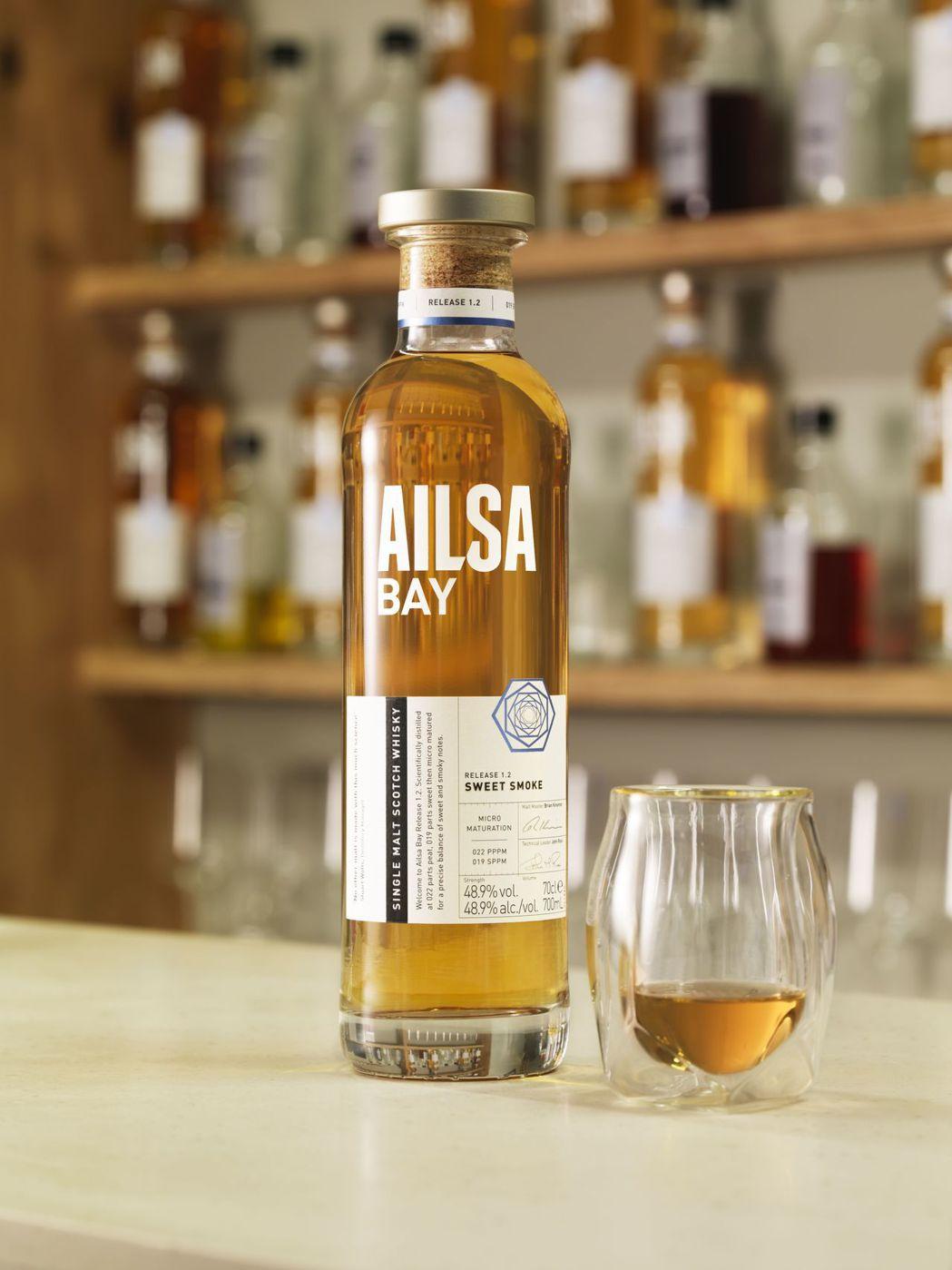 Ailsa Bay艾沙貝單一麥芽威士忌Batch  1.2 Sweet Smok...