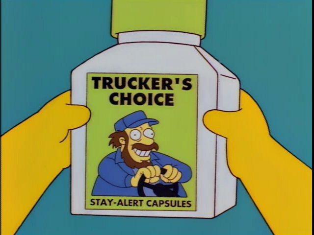 《辛普森家庭》的Trucker's Choice