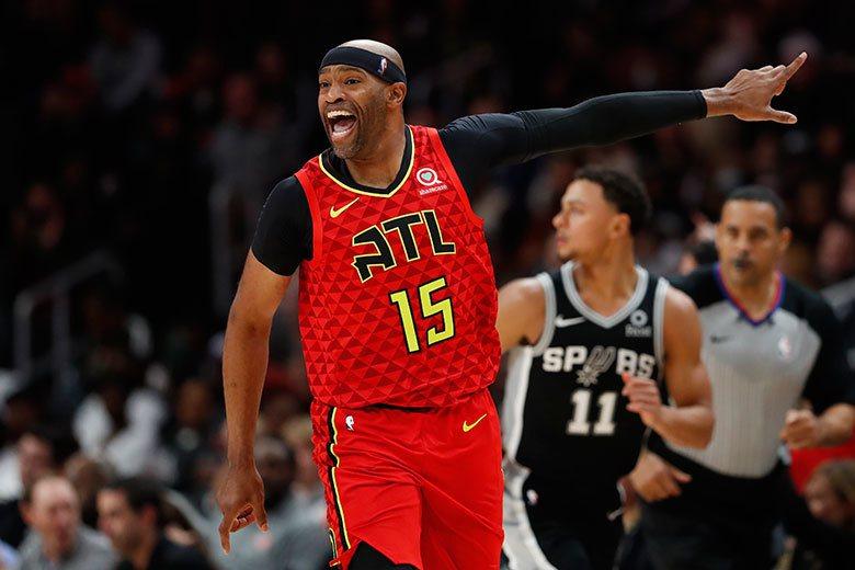 卡特是全NBA最老的球員,在老鷹陣中算是精神領袖,平均上場時間已不到15分鐘,其...