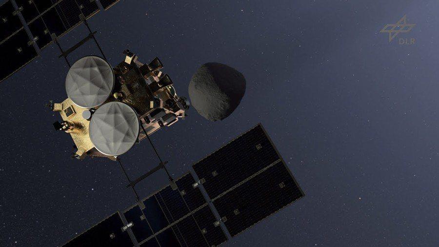 由日本JAXA所發射的隼鳥2號宇宙探測器,已經在回地球的路上,預計將花上1年的時...