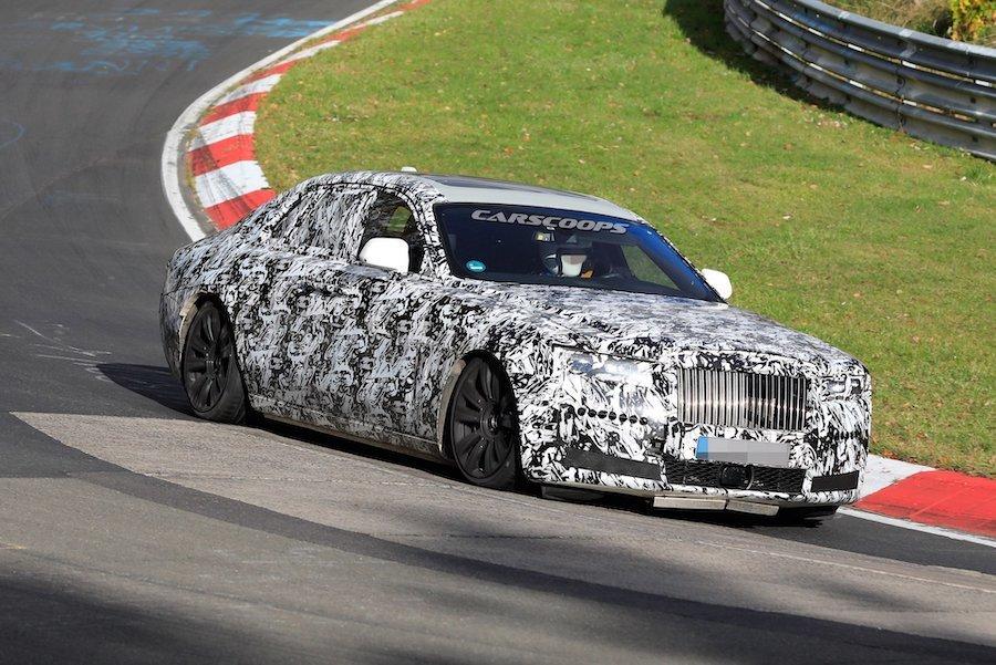 2021 Rolls-Royce Ghost紐柏林測試中! 誰說奢華豪車不用上賽道?