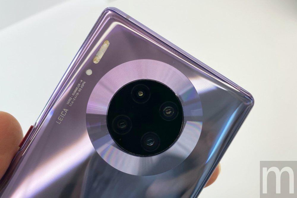 此次推出的Mate 30 Pro仍以備後主相機功能作為主打
