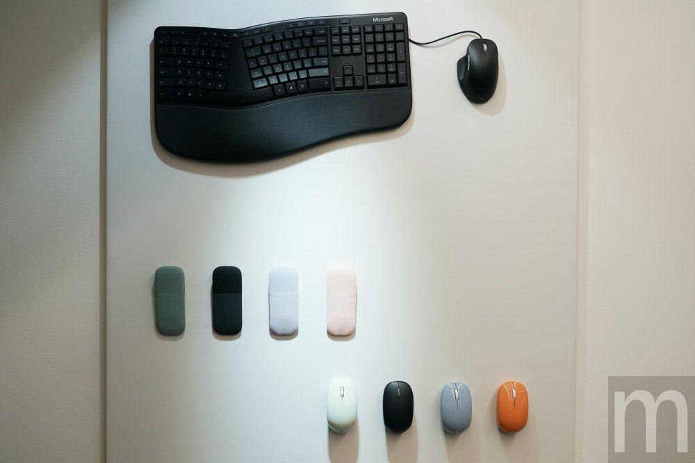 Surface系列人體工學鍵盤與滑鼠