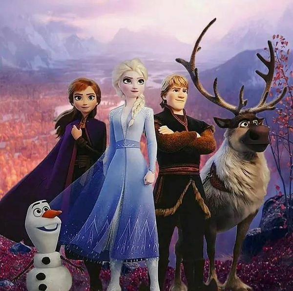 「冰雪奇緣2」是各方期待的超級動畫大片。圖/迪士尼提供