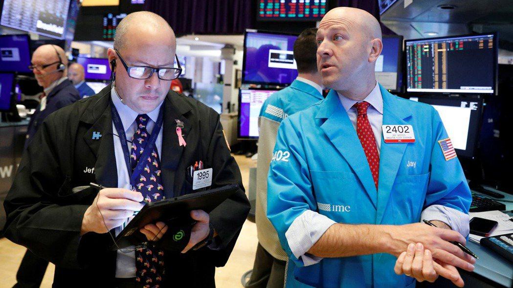 美股道瓊指數和標普500指數周三締造收盤新高。  (路透)