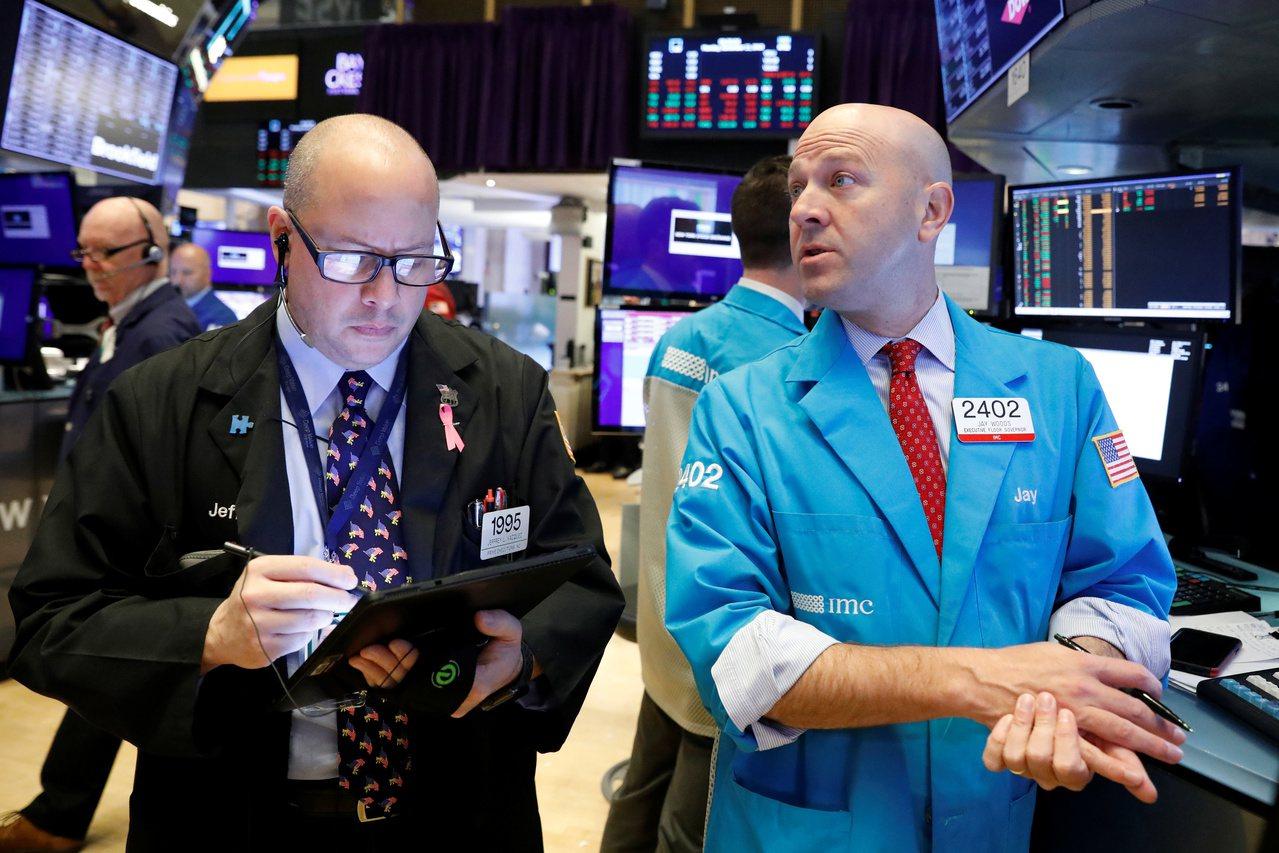 股道瓊指數和標普500指數周三締造收盤新高。 路透