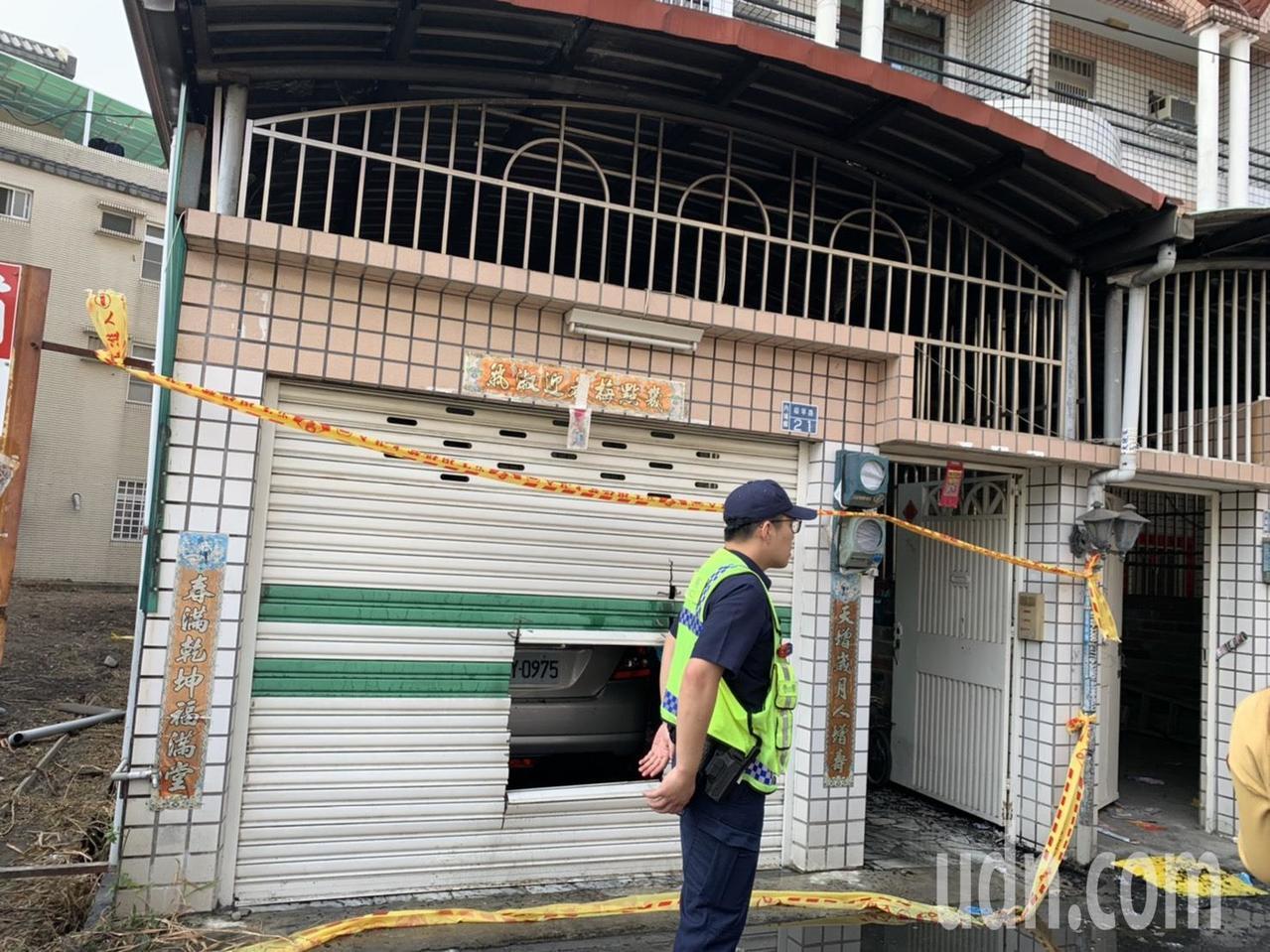 屏東內埔火警釀成嚴重死傷,火災發生原因還在調查中。記者翁禎霞/攝影