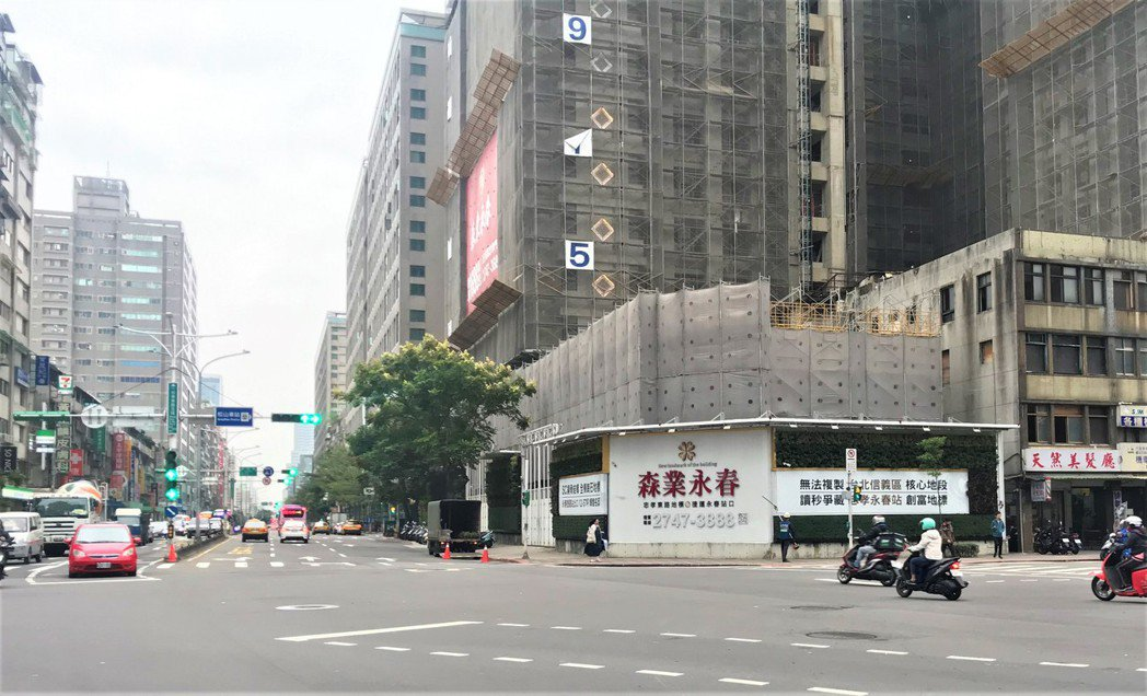 市調預估今年都更推案上看1,400億元,再創歷史新高。記者游智文/攝影