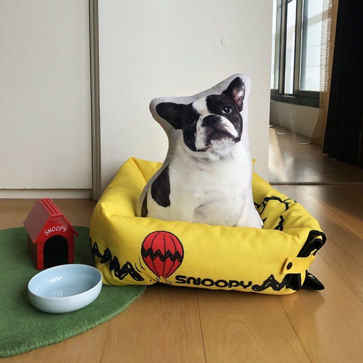 11月20日下午3點起開放預購的7-ELEVEN史努比「限量可延展寵物坐墊」,集...