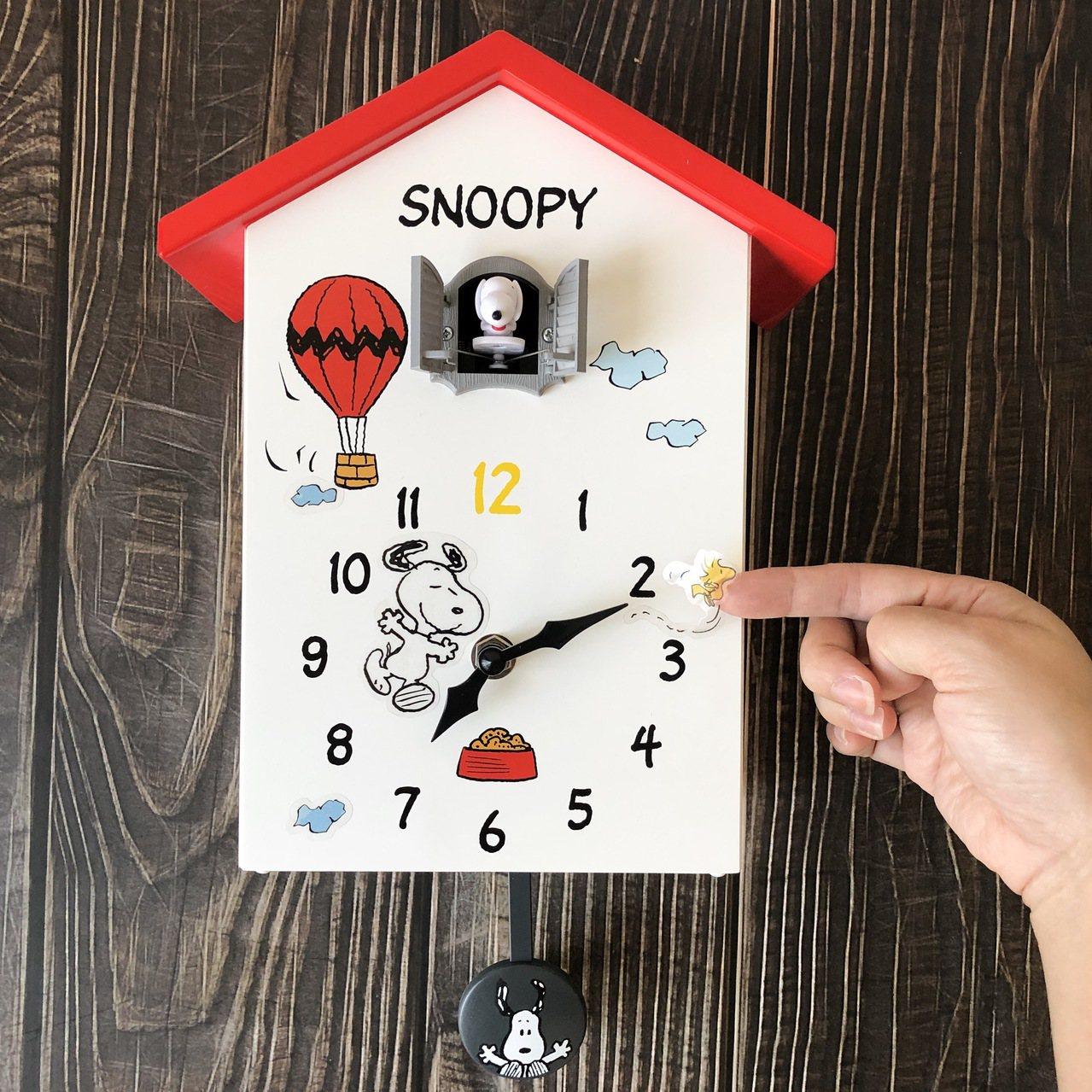 11月20日下午3點起開放預購的7-ELEVEN史努比「限量狗屋造型報時咕咕鐘」...