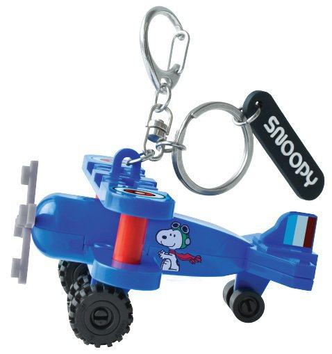 7-ELEVEN推出史努比「限量積木造型鑰匙圈」,集滿6點+149元或135點免...