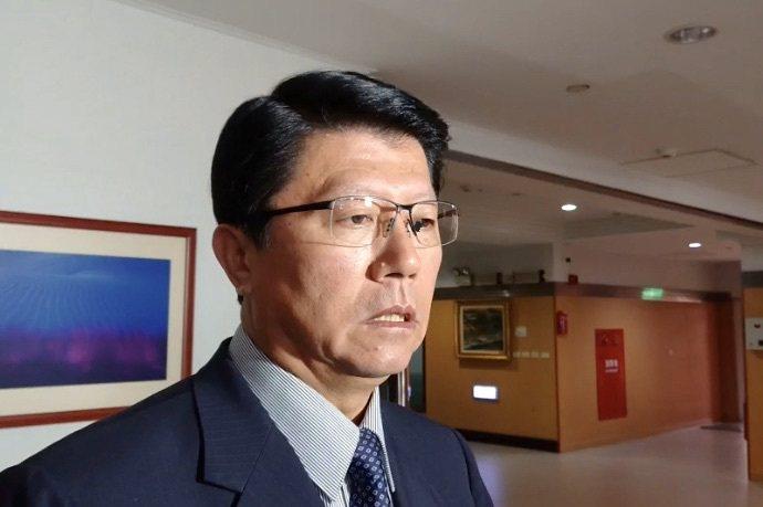 國民黨台南市黨部主委謝龍介被列入國民黨不分區立委第11名。記者鄭維真/攝影
