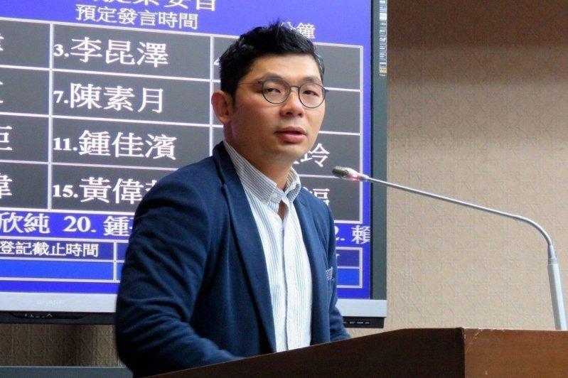 玉山科技協會秘書長許毓仁。聯合報系資料照片