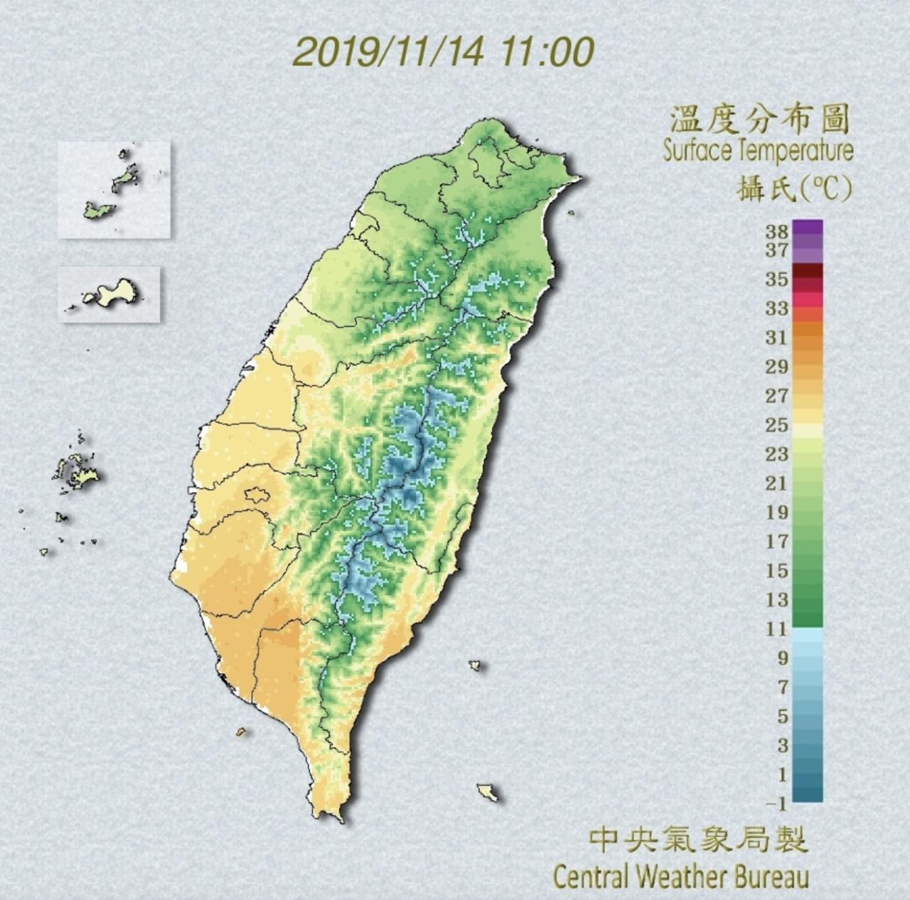 明天溫度回升,不過,下周一開始受到鋒面通過、東北季風增強,以及海鷗颱風影響,預計...