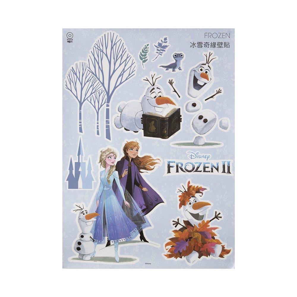 HOLA特力和樂《冰雪奇緣2》成長壁貼,原價599元、特價499元。圖/HOLA...