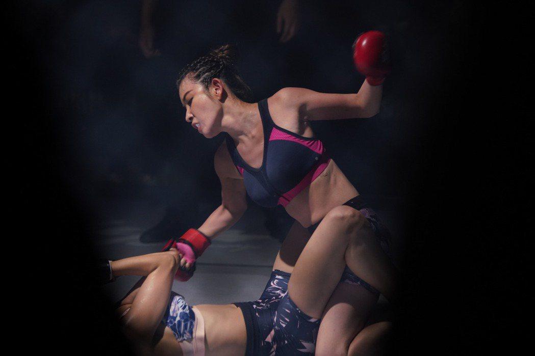 許維恩化身女格鬥選手  圖/女拳至上劇組提供