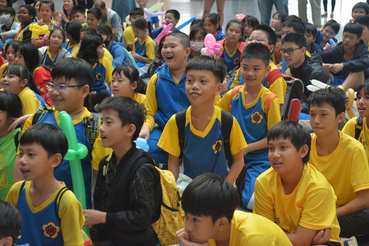 偏鄉學生到科工館一日遊,覺得收穫滿滿。記者徐如宜/攝影