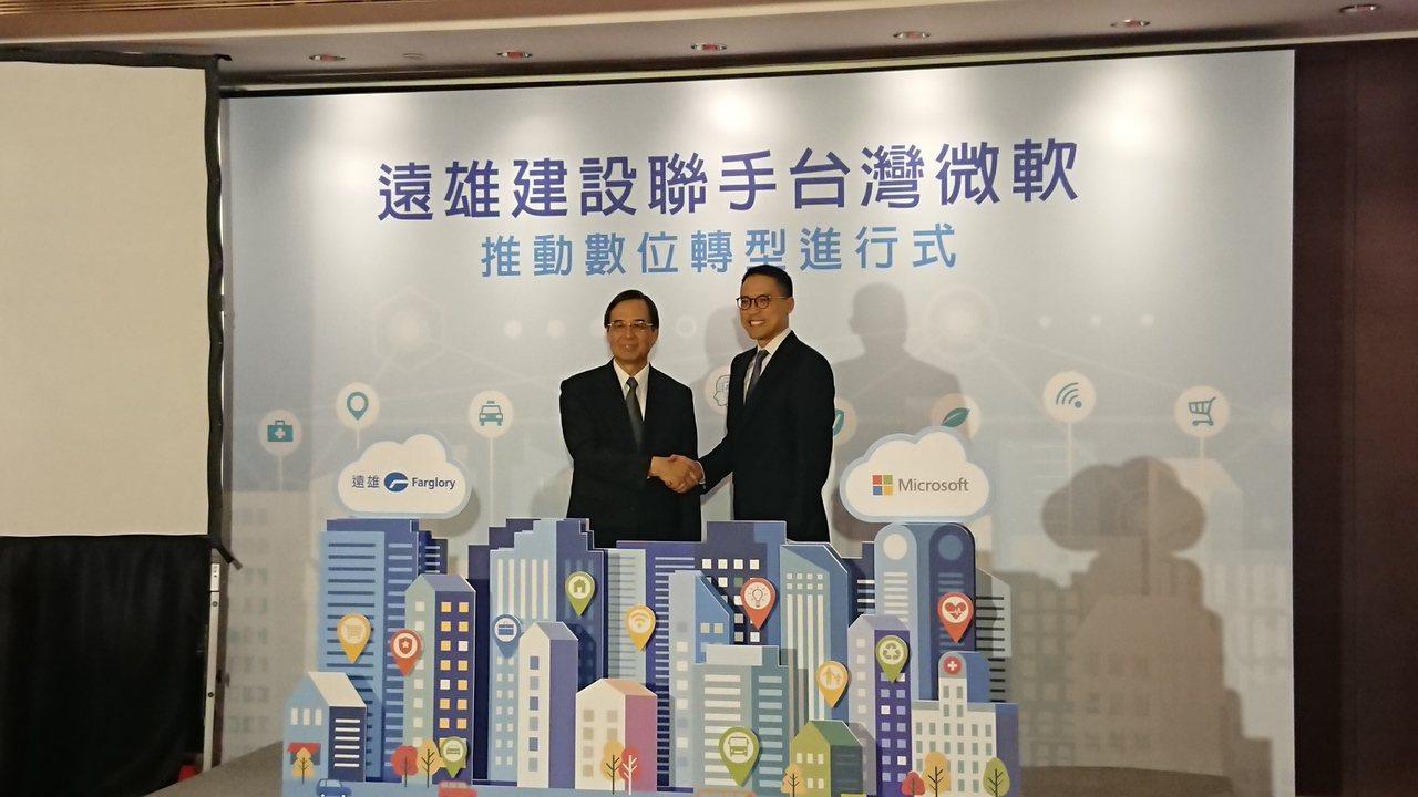 遠雄建設今宣布與台灣微軟合作,導入ERP系統在Microsoft Azure雲端...
