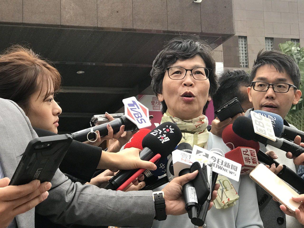 市府顧問蔡壁如。記者楊正海/攝影