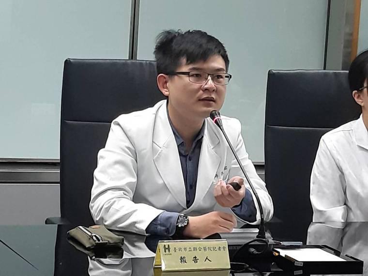 台北市立聯合醫院松德院區成癮防治科、精神科主治醫師張祜銘。圖/聯合醫院提供
