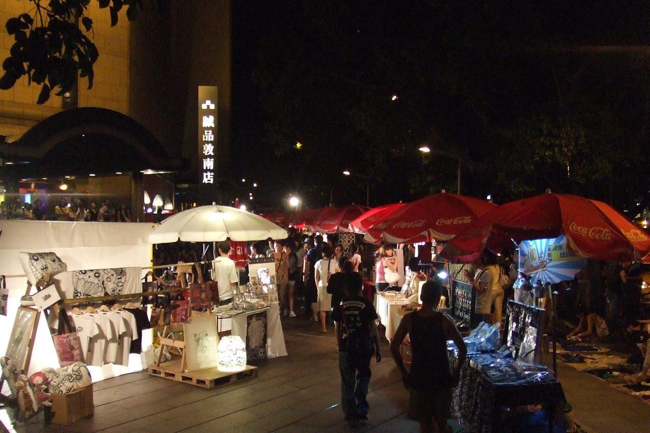 誠品敦南店外的創意市集也是許多人的青春回憶,將於11月30日起每周五、六、日、一...