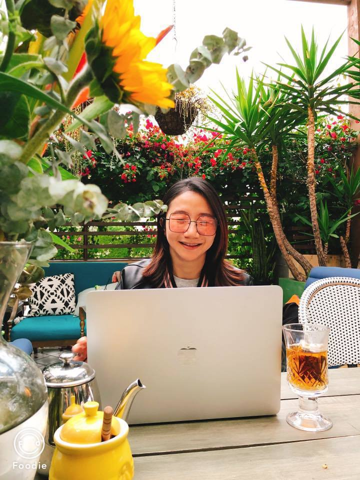 陶子自己弄了網路節目,正密集趕工即將推出。圖/陶晶瑩臉書