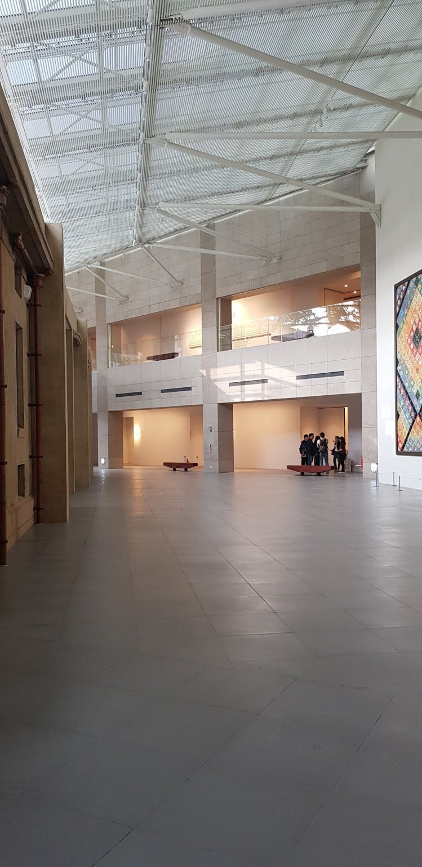 林志玲位在台南美術館內的婚宴場地。記者修瑞瑩/攝影