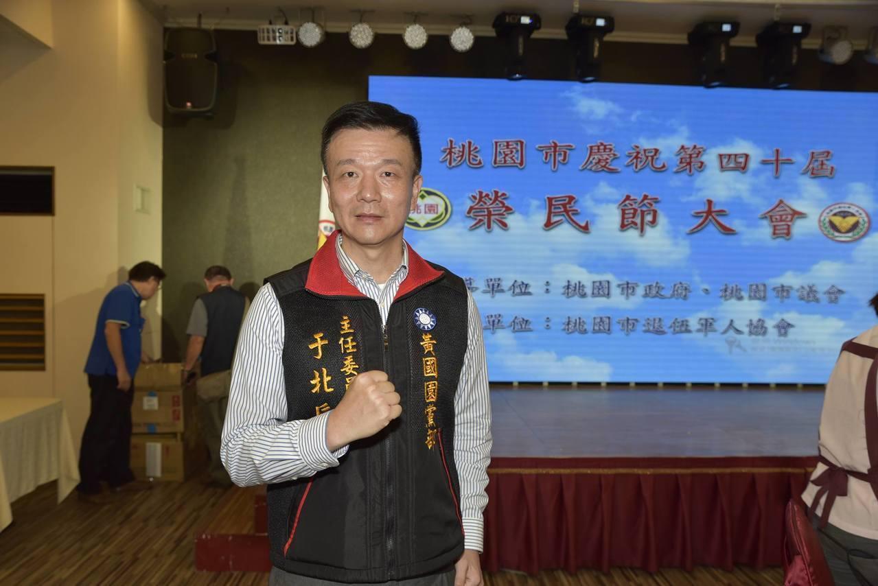 國民黨籍的前陸軍542旅旅長于北辰。圖/擷取自于北辰臉書網頁