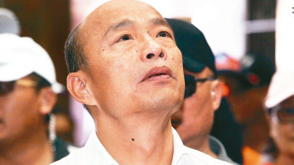韓國瑜多次表示黑韓產業鏈發達。 圖/聯合報系資料照片