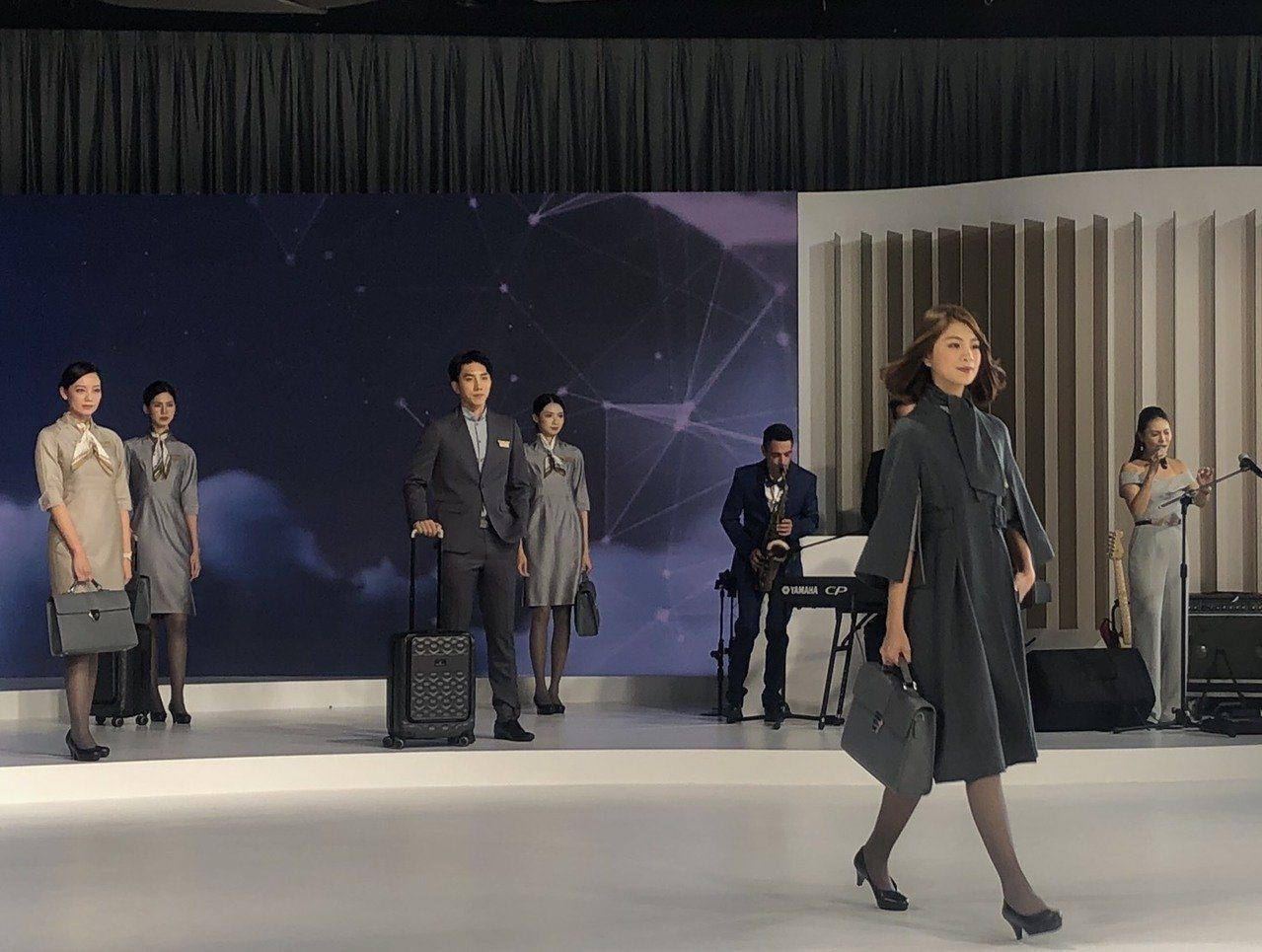 星宇航空開航倒數,新制服也隨之亮相,主打巴黎名伶風格。圖/聯合報系資料照片
