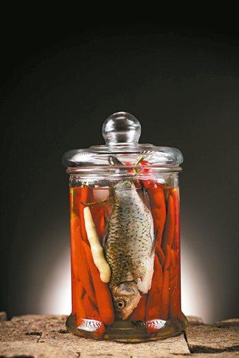 魚香味必須要有的「魚辣子」。 圖/張聰  IG:desdeschang