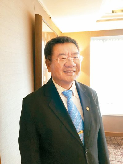 邑昇董事長簡榮坤。 記者尹慧中/攝影