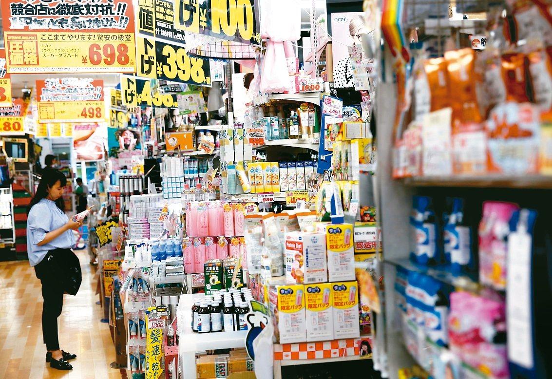 日本景氣成長力道疲弱。 路透