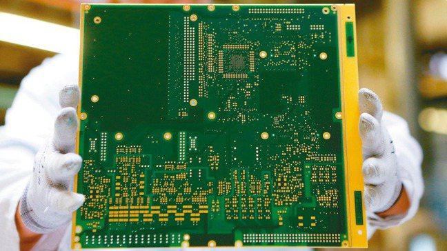 圖為印刷電路板(PCB) 報系資料照