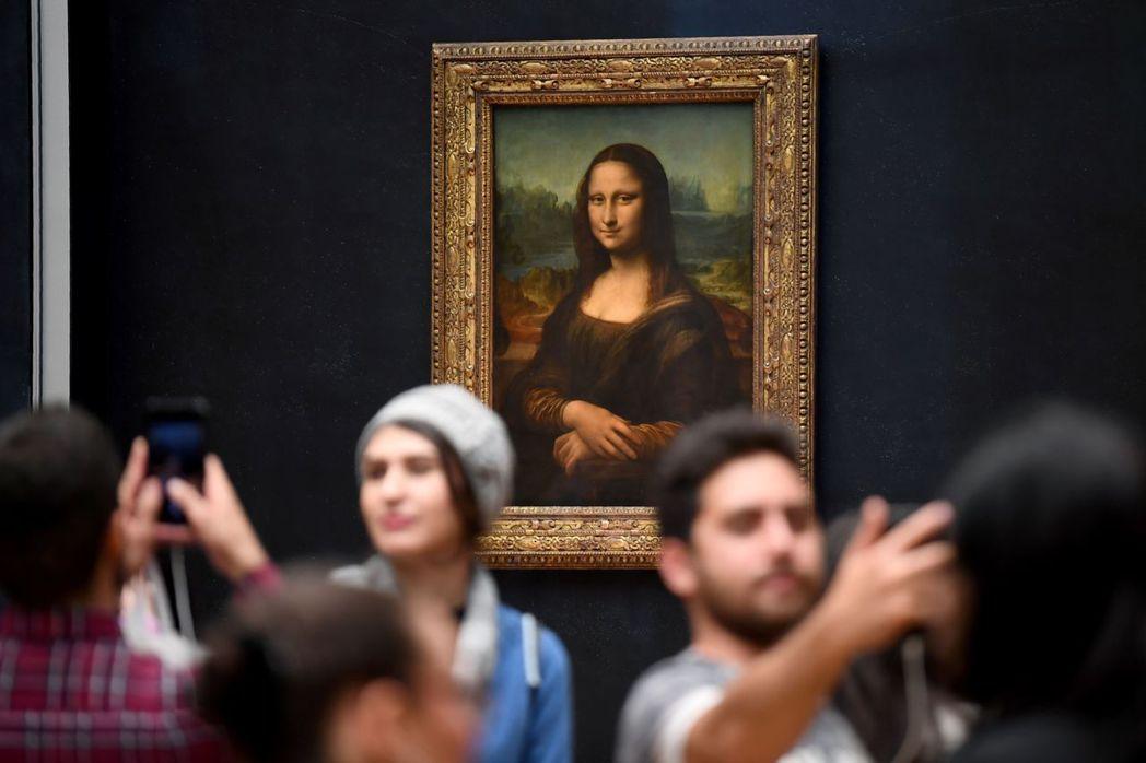 《蒙娜麗莎》之於羅浮宮的意義,近日在藝評界掀起熱議。  圖/法新社